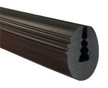 13x8mm burlete negro goma epdm - Burletes de goma para puertas exteriores ...
