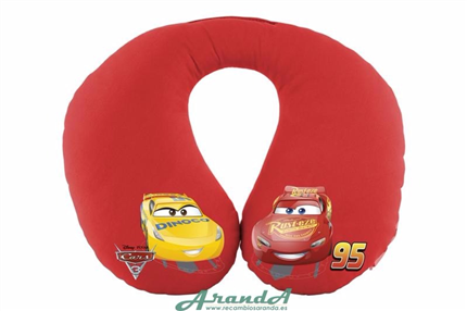 Almohadilla Cervical Disney Cars