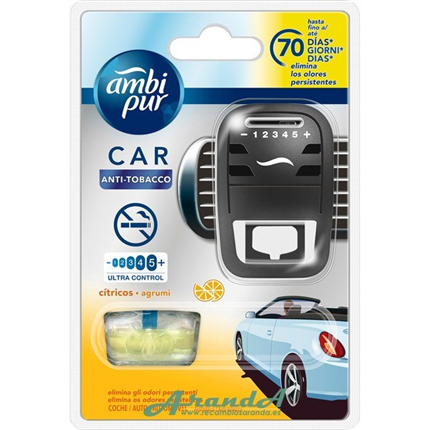 Ambipur Car Plus Cítricos AntiTabaco 7ml