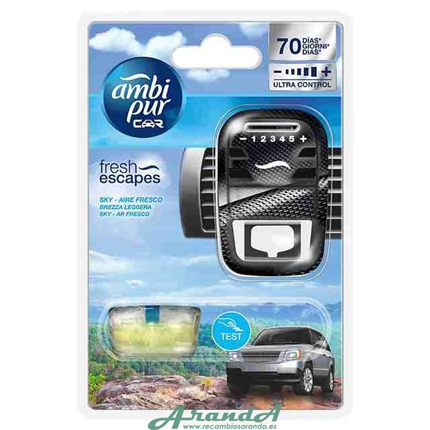 Ambipur Car Plus Open Sky 7ml