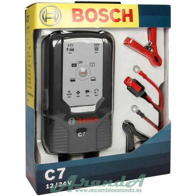 6fab58195 Bosch C7 Cargador de Baterías 12-24V ...