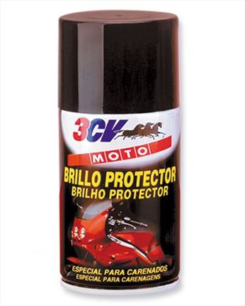 Spray Abrillantador y Protector Motos 3CV · 250ml