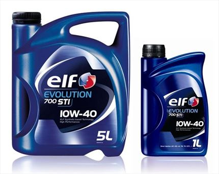 ELF 10W40 Evolution 700 STI Aceite de Motor