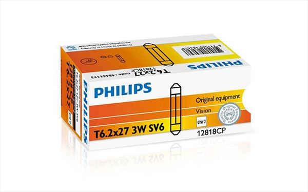 Festoon 3W Philips Lámpara 12V 3W (Plafón) (1)