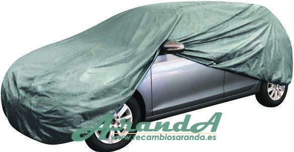 Funda Cubrecoches M 100% Impermeable Tricapa 432x150