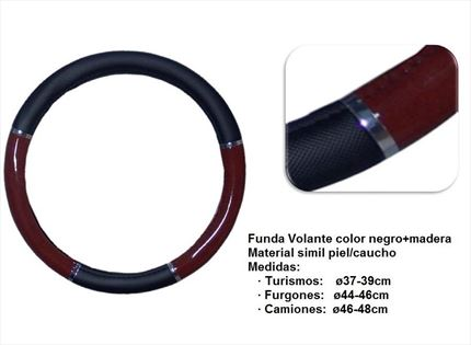 ø37-39 Funda de Volante Polipiel Adaptable. Varios colores