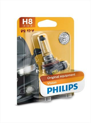 H8 Philips Lámpara Vision 12V 35W