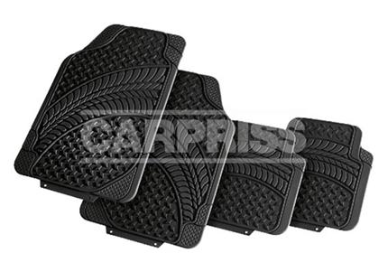 Superficie Antideslizante Tidyard Juego de Alfombrillas para Coche Alfombrillas Coche Negro Alfombrillas Coche Universal 4 Piezas a Medida para Audi A4 B6//B7