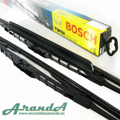 Juego Escobillas Bosch Especiales Troner 550mm
