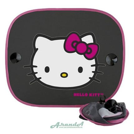 Juego Parasoles Laterales Hello Kitty 65x38 cm