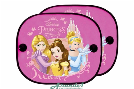 Juego Parasoles Laterales Princesas Disney