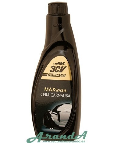 Max Wash Cera Carnauba 500ml 3CV