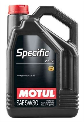 Motul 5W30 Specific MB 229.52 Mercedes Benz