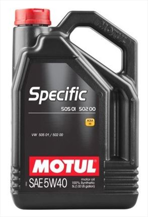 Motul 5W40 Specific VW 505.01 - 502.00