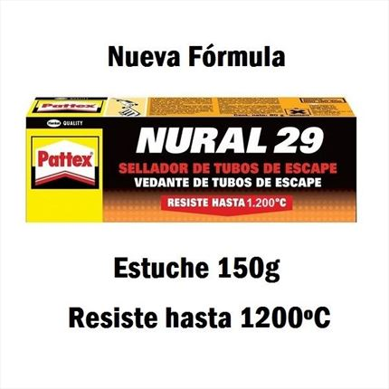 Pattex Nural 29 Sellador para Tubos de Escape