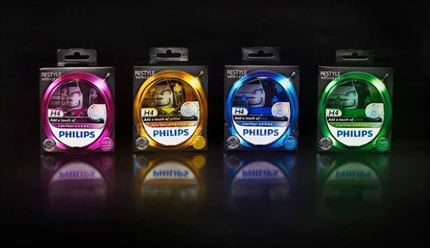 Philips H4 ColorVision Estuche 2 Bombillas