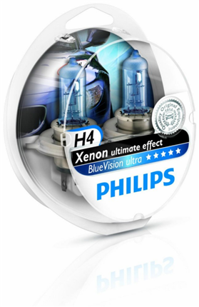 Philips Bluevision H4 Xenon