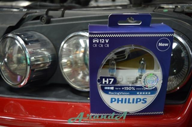philips h7 racingvision 150 ef xenon juego 2 l mparas. Black Bedroom Furniture Sets. Home Design Ideas