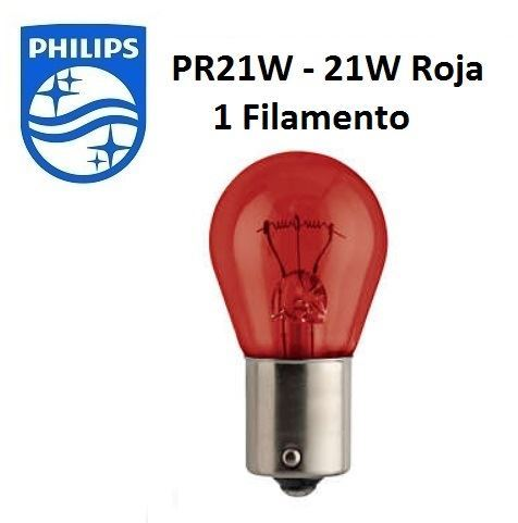Ampoule Philips 12V 21W BAW15S ROJA | Dam Sport