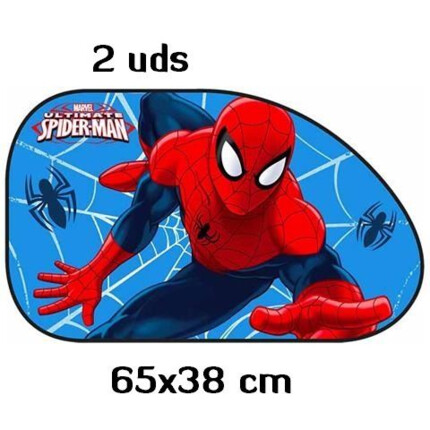 Spiderman - Juego 2 Parasoles Laterales 65x38cm