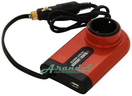 12v a 220v transformador de corriente black decker for Transformadores de corriente 220v a 12v
