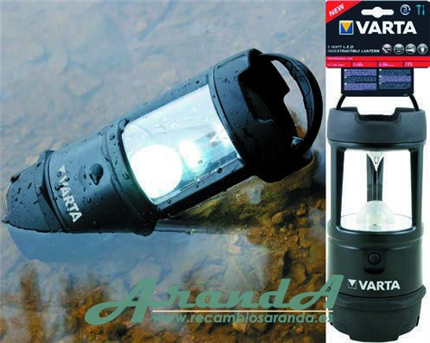 Varta Linterna LED 5W Indestructible Camping