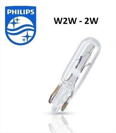 W2W Philips Lámpara 12V 2W (Cuña)