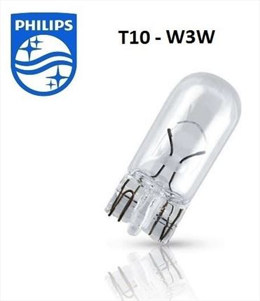 W3W Philips Lámpara 12V 3W (Cuña)